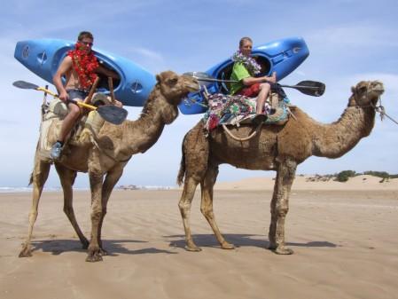 Kayak shuttles, Morocco style!