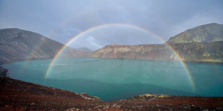 Fjallabak Rainbow Peter Cox www.petercox.ie