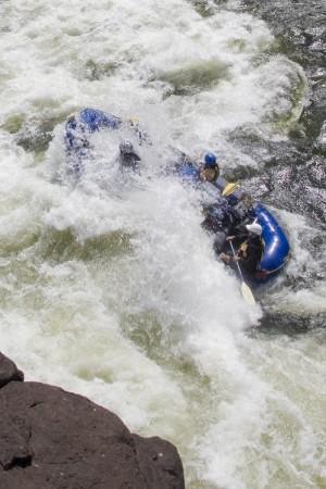 """Running A """"Hole"""" on the Zambezi"""