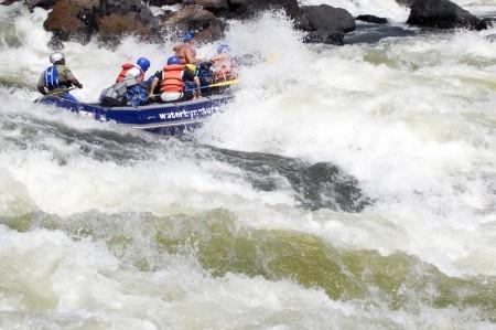 Tembo & Crew Running Open Season On The Zambezi River
