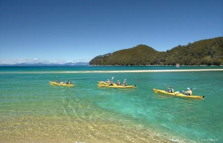 Paddlers paradise. Abel Tasman National Park
