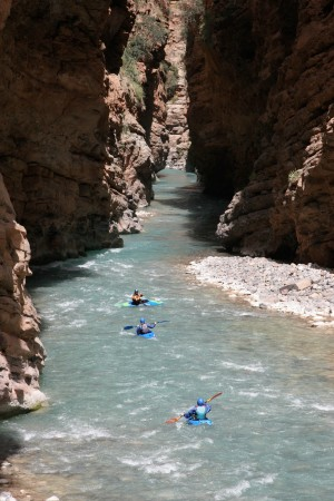 Learning to kayak in Morocco is hard to beat.