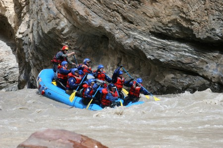 The thrills of the Zanskar River