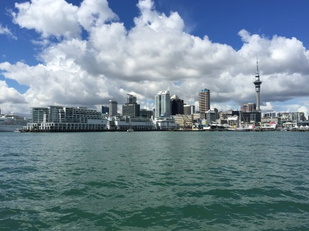 Auckland City from the harbour
