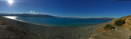 Panorama of Lake Pukaki