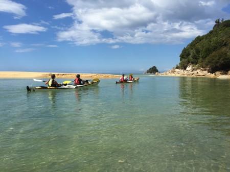 Sea Kayaking through Abel Tasman