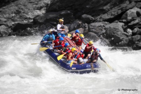 Big water fun on the Karnali