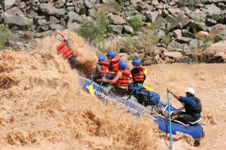 Great paddling through Hermit Rapid