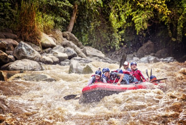 Prepare yourself for some of the best rafting in the world.