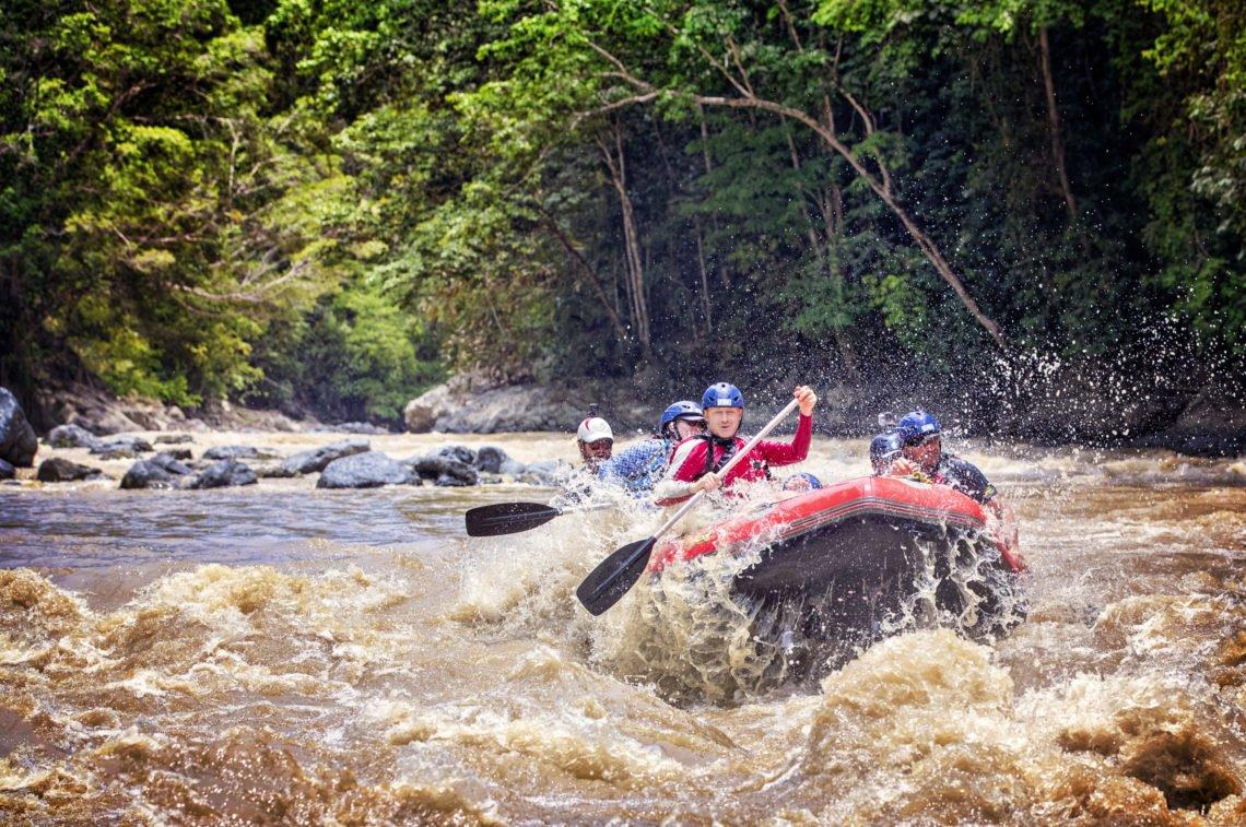 Incredible rafting