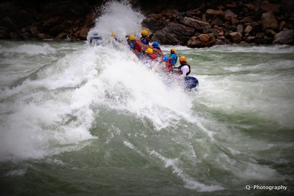 One of the world's best rapids, God's House